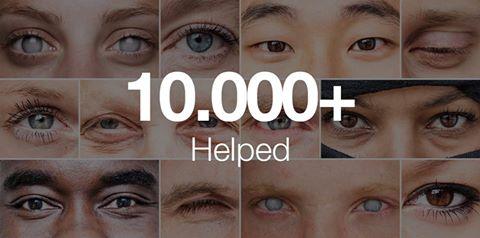 Aplicativo empresta olhos a cegos