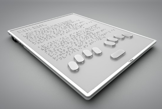 tablet tátil